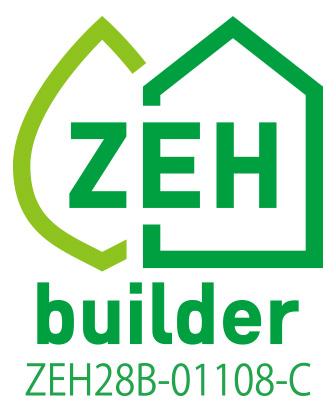 ZEH(ゼロエネルギーハウス)のロゴ
